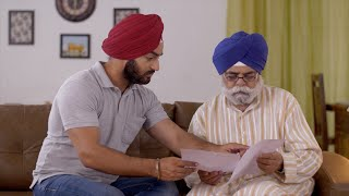 Indian father and son holding documents and discussion work - Paperwork, Finance, Home Loan, Legal Papers