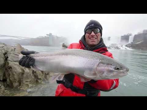 Niagara Falls Steelhead with Paul Castellano - Facts of Fishing full episode season 8 episode 7