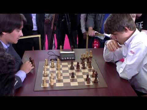 GM Morozevich (Russia)- GM Carlsen (Norway) FF