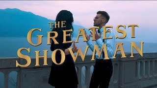 Download Lagu REWRITE THE STARS - Zendaya & Zac Efron THE GREATEST SHOWMAN | Cover By Elena & Daniel Mp3
