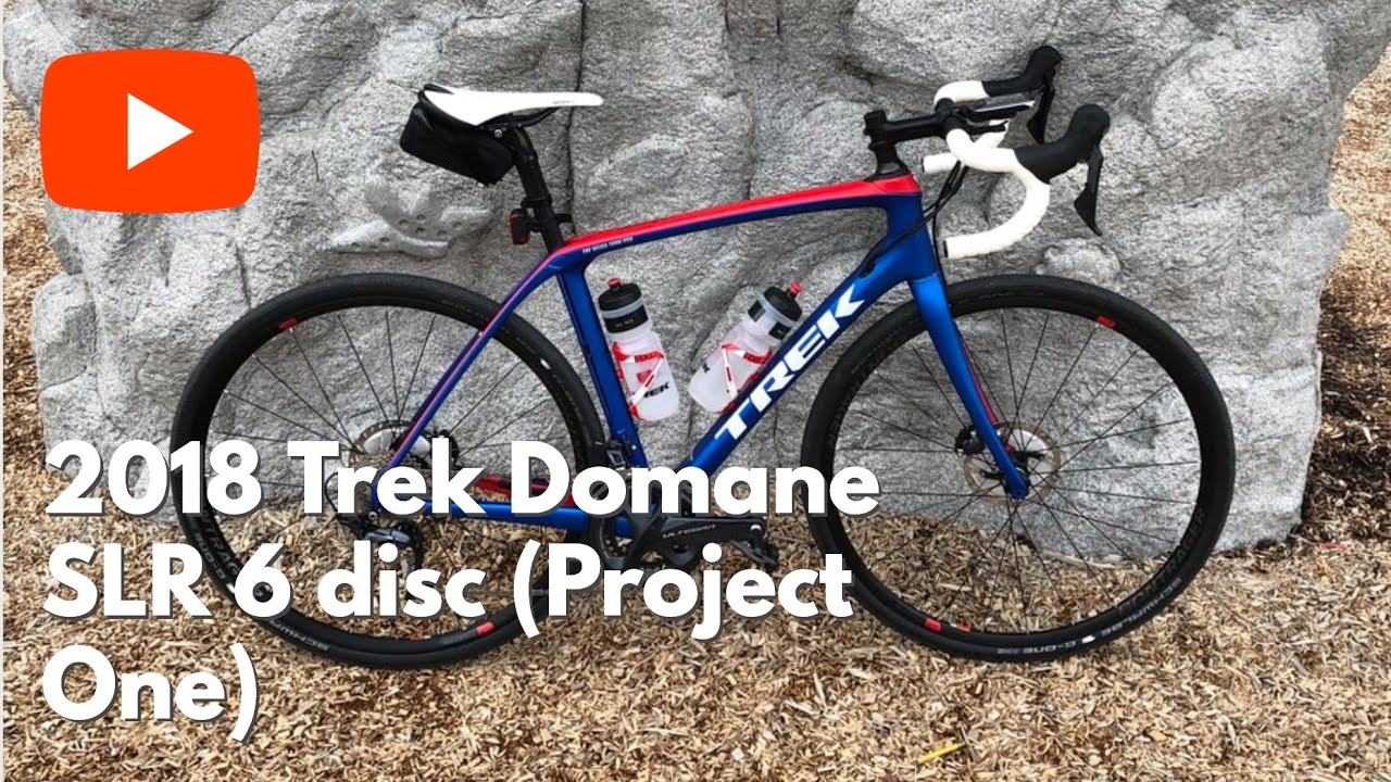 My brand new 2018 Trek Domane SLR 6 disc - Project One (Ultegra 8000  groupset)
