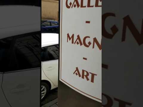 Sunday 2 april 2017 at GALLERY MAGNO ART - STOCKHOLM