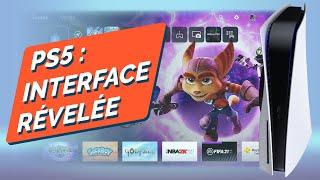 Playstation 5 : l'interface utilisateur présentée ! Les nouveautés de la next-gen de Sony