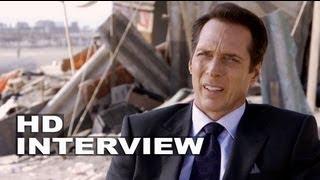 "Elysium: william fichtner ""john carlyle"" on set interview"