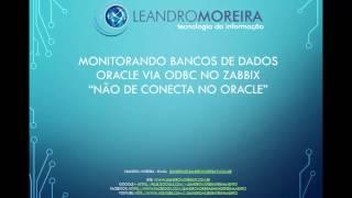 Monitoramento de Banco de dados Oracle via ODBC no Zabbix - Variáveis de ambiente
