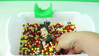 Strafor Havuzunda Eğlenceli Oyunlar Eğitici Videolar