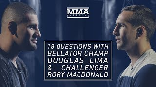 18 Questions With Bellator's Rory MacDonald and Douglas Lima - MMA Fighting