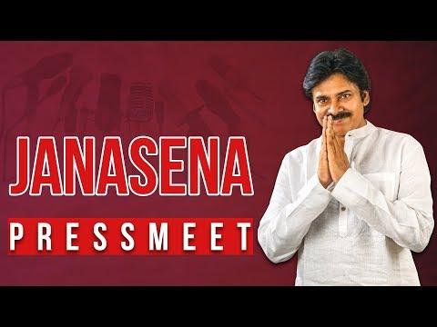 LIVE || JanaSena Party Press Meet || Vijayawada || Pawan Kalyan