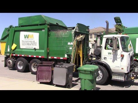 Waste Management Garbage Trucks Of Menifee Ca