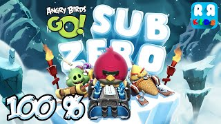 Angry Birds GO! - Sub Zero 100% - Walktrough Gameplay
