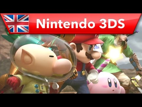 Super Smash Bros. for Nintendo 3DS - Launch Trailer
