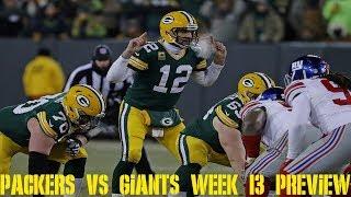 Packers vs Giants Week 13 Preview w/ Giants Fan Pete