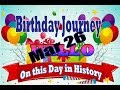 Birthday Journey March 26 New