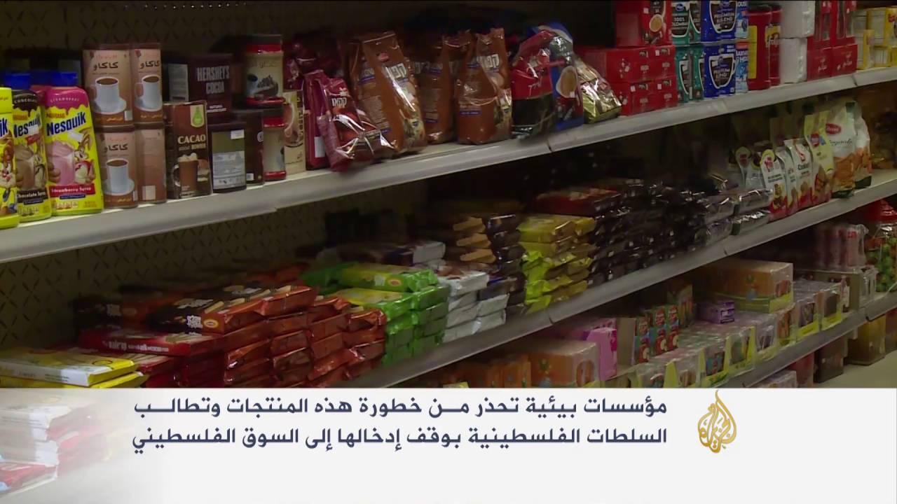 الجزيرة: الكشف عن أغذية إسرائيلية ملوثة بالأسواق الفلسطينية