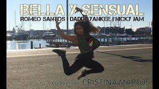 BELLA Y SENSUAL - Romeo Santos Daddy Yankee Nicky Jam | ZUMBA®FITNESS | CRISTINA MARTOS