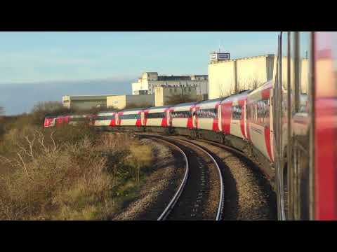 Virgin Trains East Coast services diverted via Lincoln Central 18/11/17