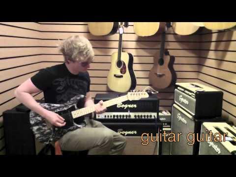 Bogner Uberschall Twin Jet Demo by Josh Wibaut Part 1: Testing123reviews @ Guitar Guitar Birmingham