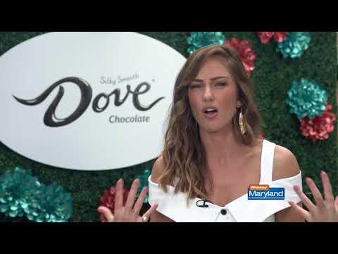 Minka Kelly  Dove Chocolate