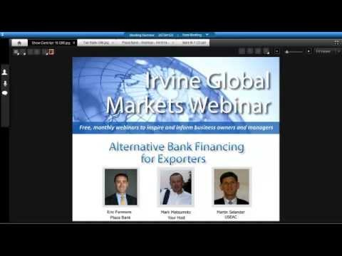 Alternative Financing for California and Nevada Exporters