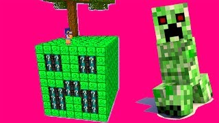 ILHA CREEPER LUCKY BLOCK