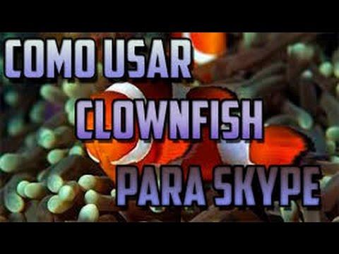 Tutorial HD De Como Usar Clownfish   Modificador De Voz En Skype