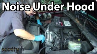 How To Fix Noises Under Your Car'S Hood