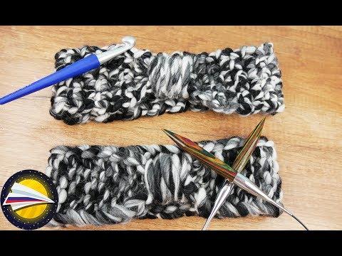 Чем лучше вязать шарф спицами или крючком