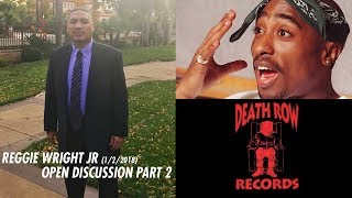 Reggie Wright Jr x J-Mix Open Discussion Part 2 (2pac, Suge Knight, More)