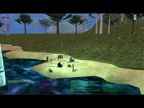 Everquest old school : Part 72 - Beach Group - Lake Of Ill Omen - Barbarian Shaman
