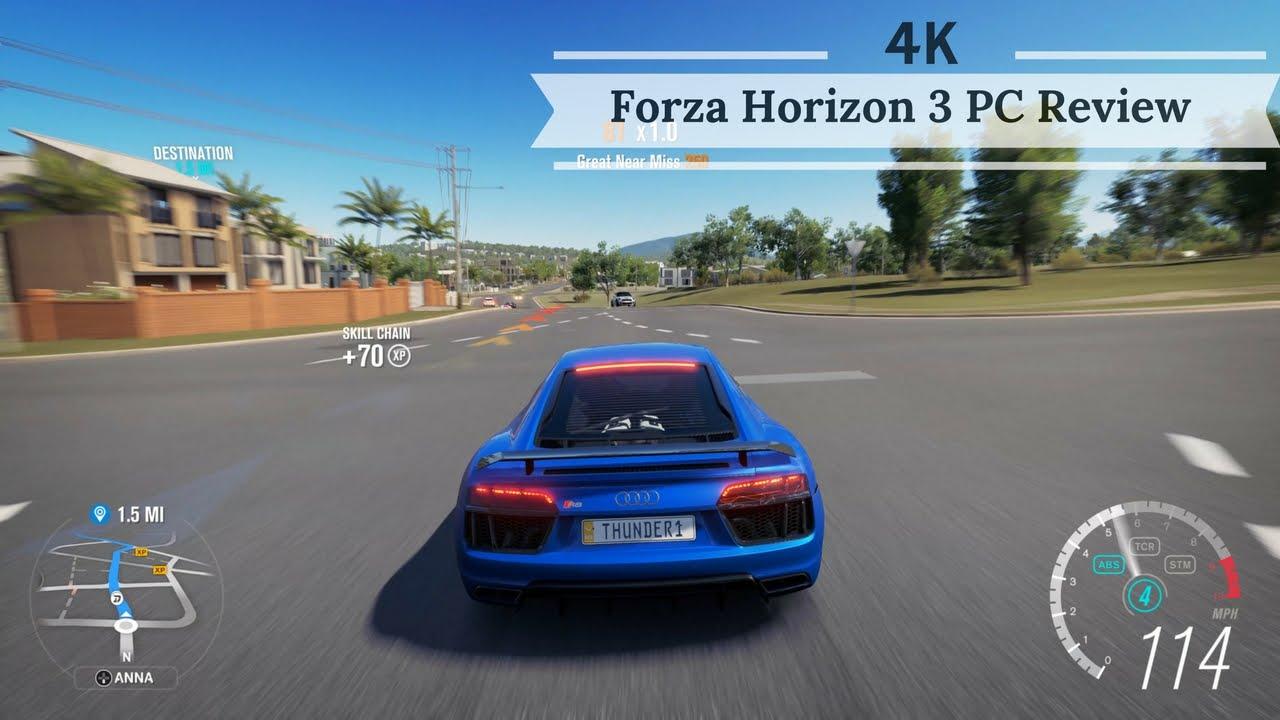 Forza horizon 3 pc review 4k youtube - Is forza horizon 3 4k ...