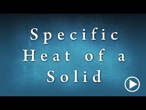 Specific Heat Of A Solid Edunovus Online Smart Practicals