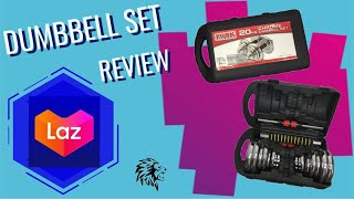 York Dumbbell Set 20kg from LAZADA | Review & Demo