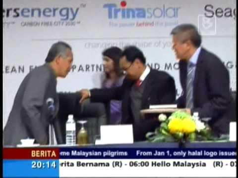 Masers Energy Smart Grid City Malaysia Bernama News 28 September 2011.mpg