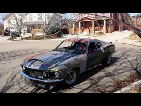 69 Mustang 427 Twin turbo restomod first drive