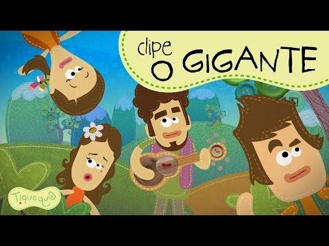 """Video Musical """"O Gigante"""" clipe animado do Tiquequê"""