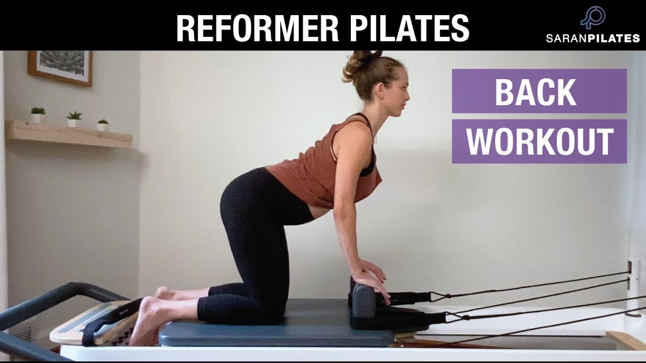 20 Minute Back Workout on the Reformer. No props needed.