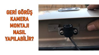 Geri Görüş Kamerası Montajı - Parking Rear Camera Installation