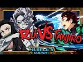 Tanjiro vs Rui - Animelee (Demon Slayer)