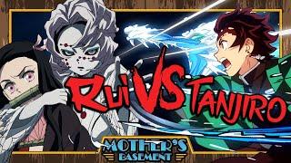 Tanjiro vs Rui - Animelee (Demon Slayer)