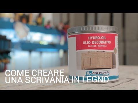 Come Creare Una Scrivania In Legno Per Il Tuo Studio Youtube