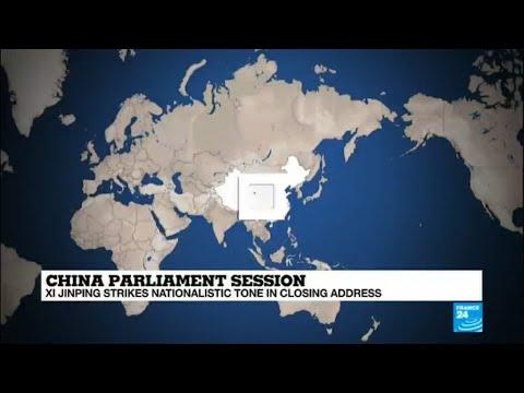 China: Xi Jinping kicks off second term with warning to Taiwan