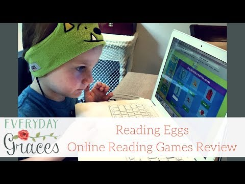 Reading Eggs Online Reading Games for Homeschool Review