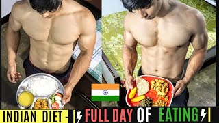 Full Day of Eating-INDIA|Bodybuilding Diet Plan For Muscle Gain