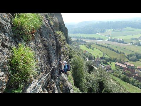 Klettersteigset Mit Gurt Verbinden : Klettersteig: ausgerutscht und ins seil gefallen youtube