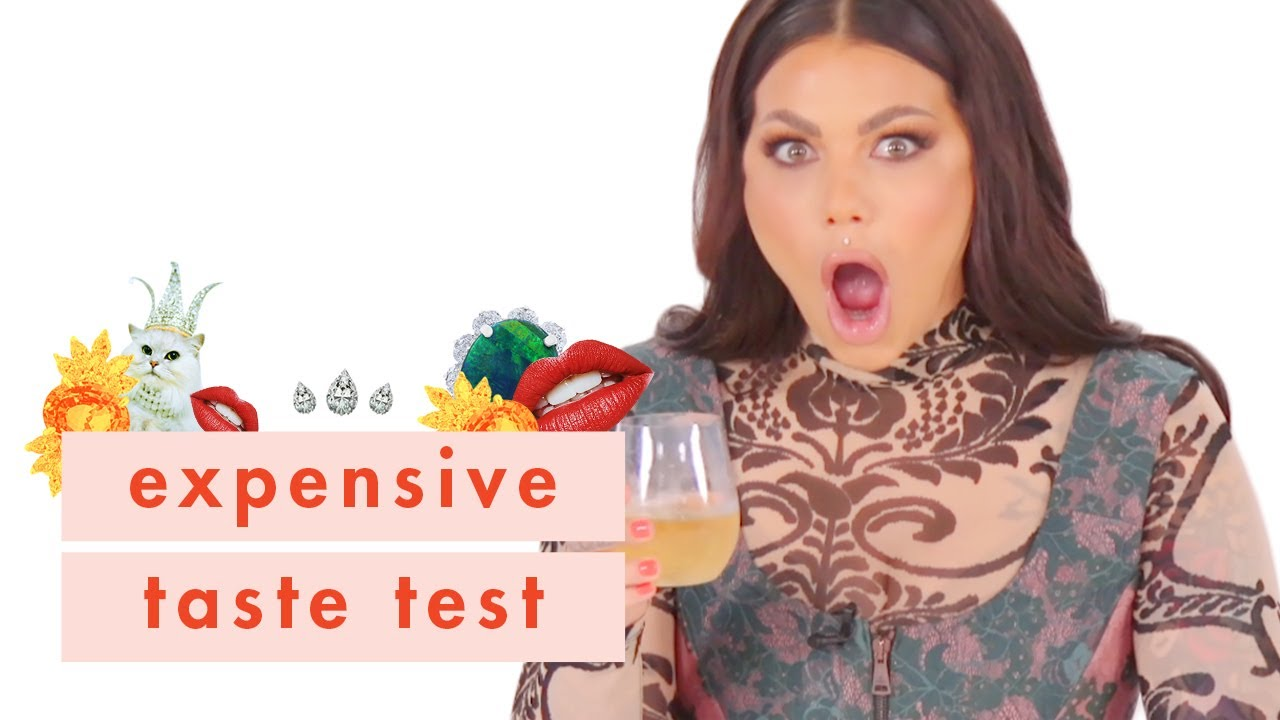 True Crime Expert Bailey Sarian Plays Cheap vs Expensive Makeup w Cosmo | Expensive Taste Test