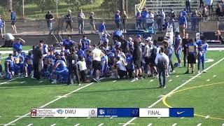 Briar Cliff Football vs. Dakota Wesleyan