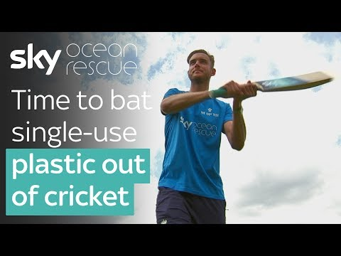 Time to bat single-use plastic out of cricket
