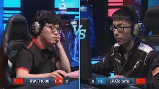 TH000 (HU) vs Colorful (NE) WarCraft Gold League Summer 2019 (Miker)