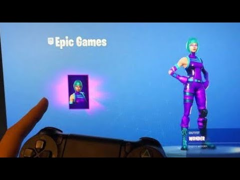 How to Get the Wonder Skin in Fortnite Season X using Store Method | Tutorial for PS4/Xbox/PC/Mobile