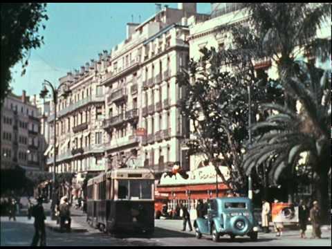 Alger en 1938 en couleur